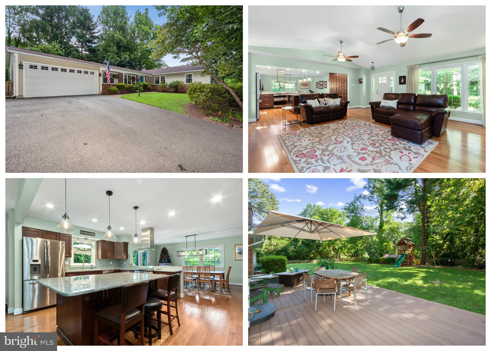 Beautifully maintained single level living featuring 4 bedrooms, 2 baths, fully updated, open floor