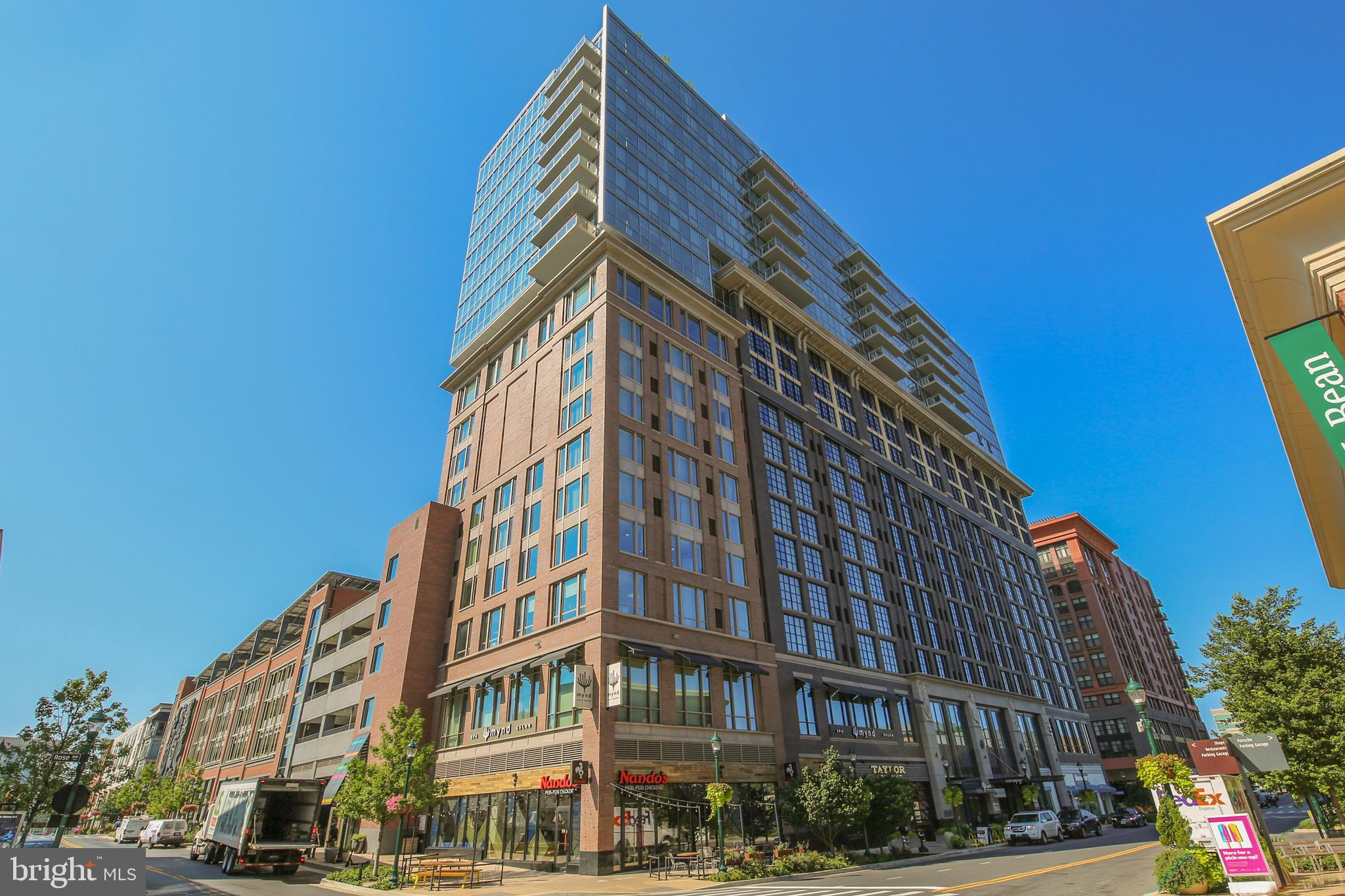 Live the urban life of your dreams at the heart of North Bethesda's exciting Pike & Rose district. This 2-bedroom/2-bathroom unit bursts with light from floor-to-ceiling windows. Luxury features include hardwood flooring,  generous cabinet space, stainless-steel appliances, and a gas range.   Building amenities include a rooftop club room, a fitness center, and a dog  park with its sweeping views of your surroundings.  Must be seen to be believed.  Walk to the White Flint Metro station, casual and fine dining, shopping and entertainment. Located just minutes from I-270 and the Capital Beltway. Discover the excitement for yourself!