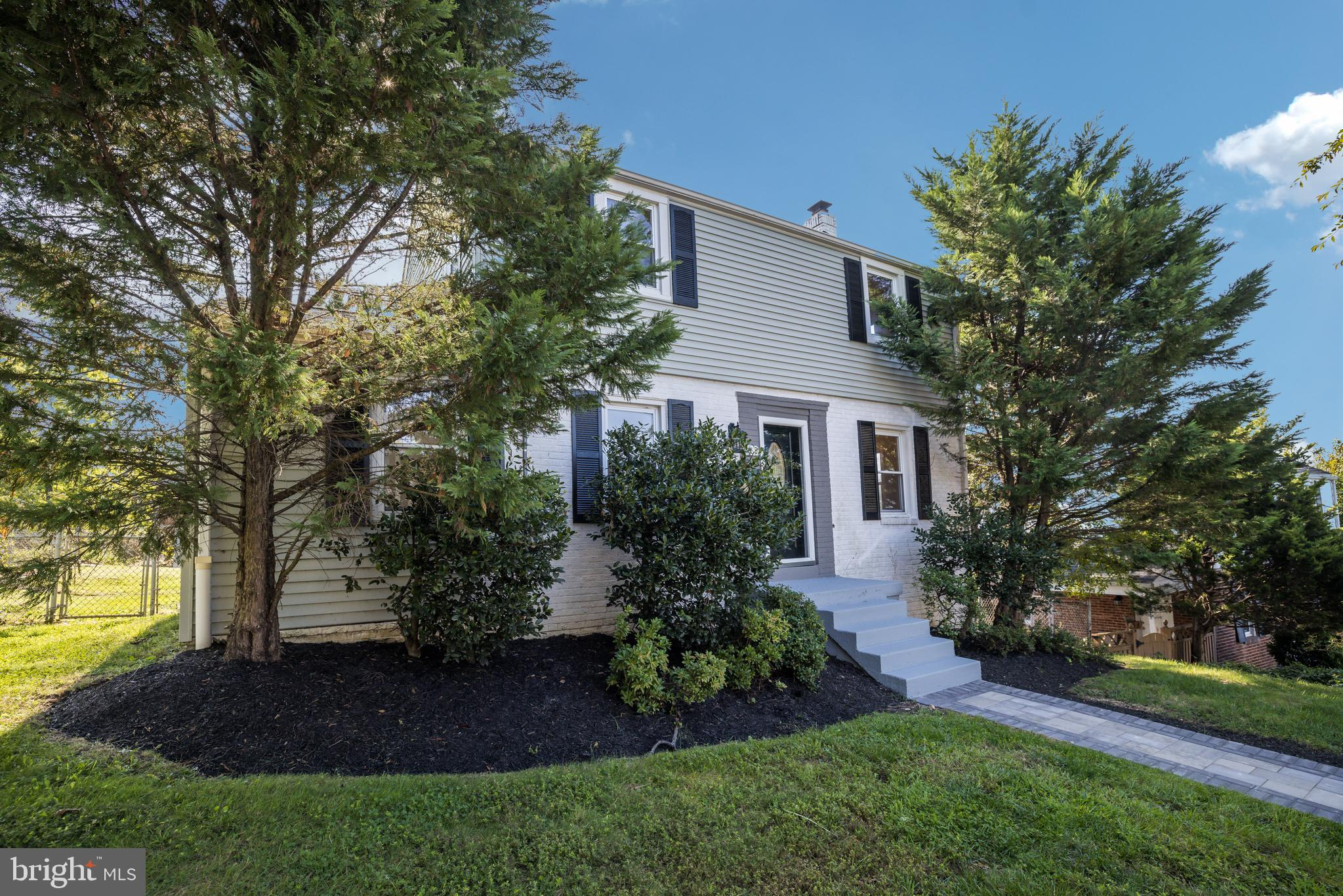Welcome to Cheverly - small town charm with big city access - and this charming mid-century colonial