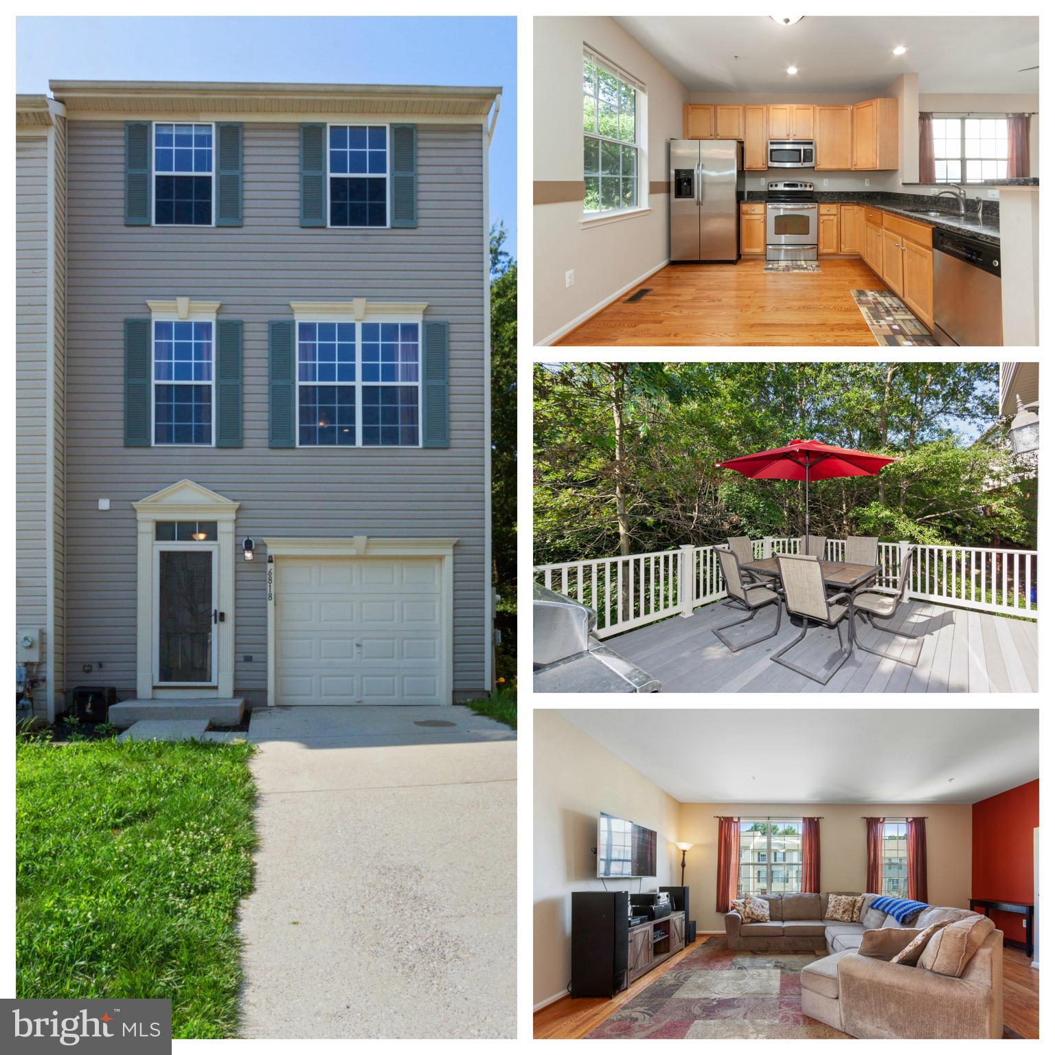 Beautiful End  Unit Townhome with 1 car garage in a quiet community.  Spacious Open living concept.