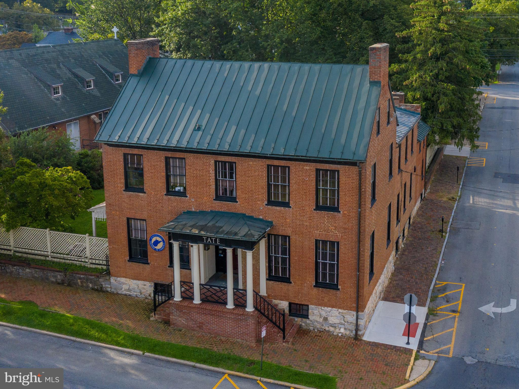 The historic Tate House, nestled in downtown Charles Town, was built in about 1797 and is extremely