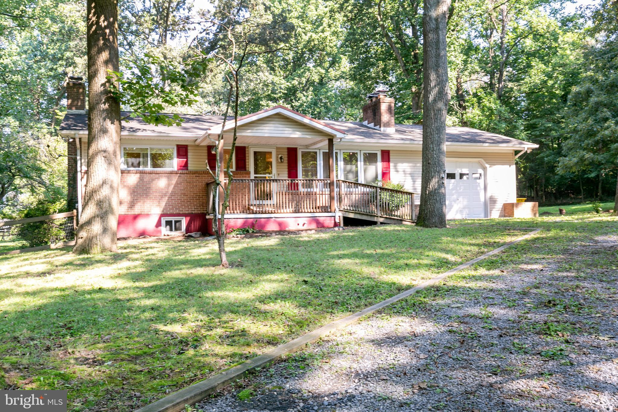 Excellent buying opportunity in a secluded location in Pasadena.  Lots of living space on main level