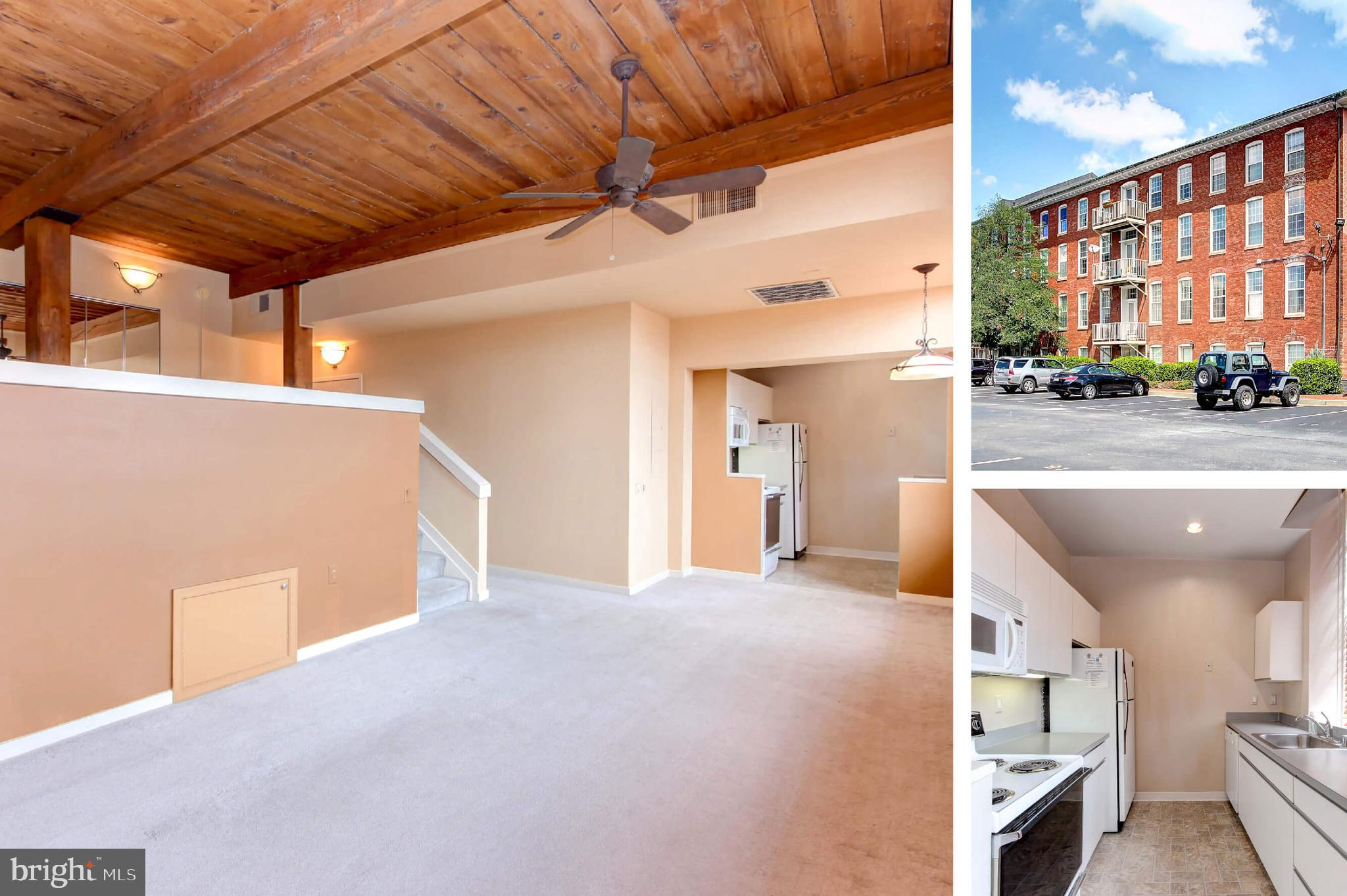 PRIME CANTON LOCATION Large loft located just steps away from the water & all that Canton has to off