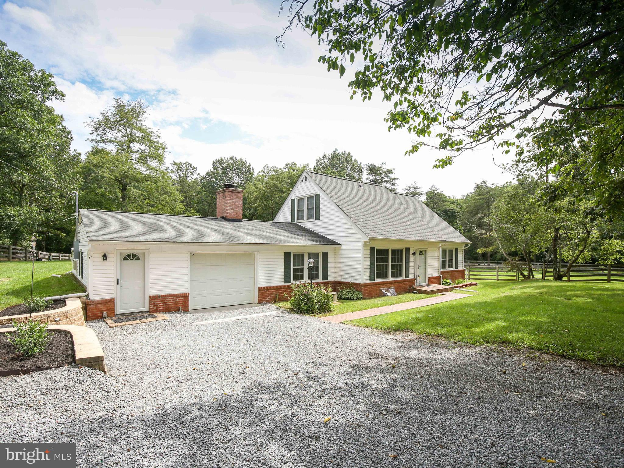 Welcome to over five acres in beautiful Clarke County, Virginia! Outside, this property offers three