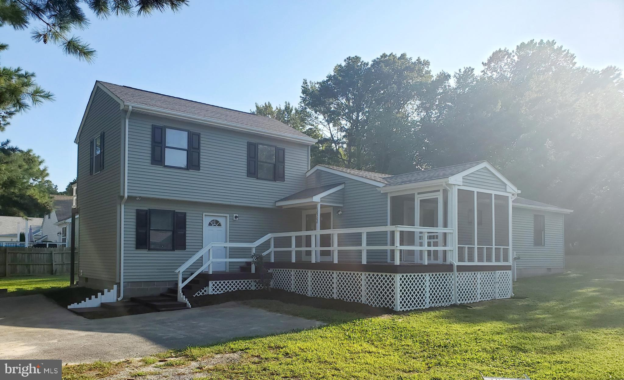 Check out this very unique property located in Lewes. Featuring 3 bed and 2 full baths, large wrap a