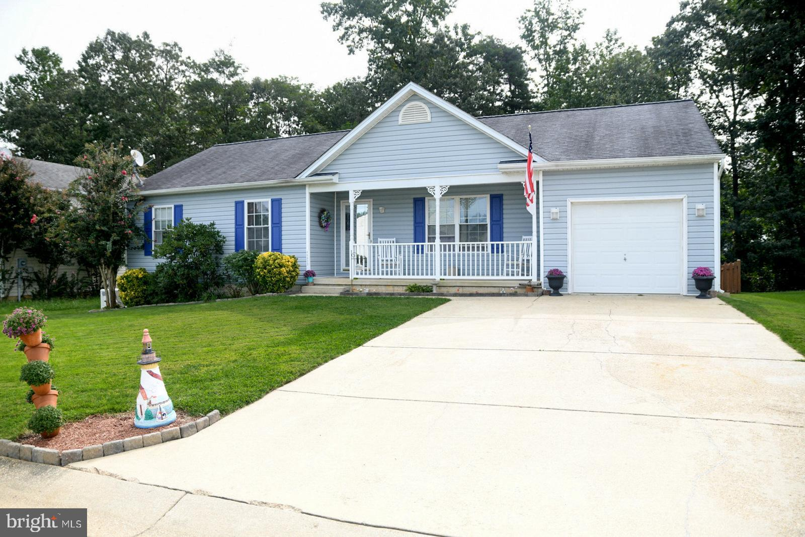 This home has a lot to offer and more.   Beautifully landscaped yard and lots of curb appeal.  3 Bed