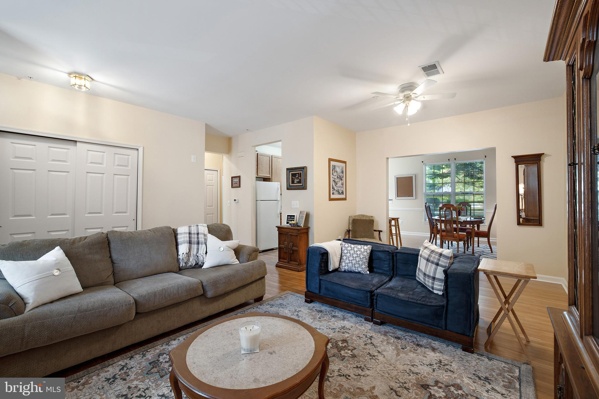 Lovely Three Bedroom Condo Now Available in Annapolis.  Main Level Entrance and One-Level Living! We