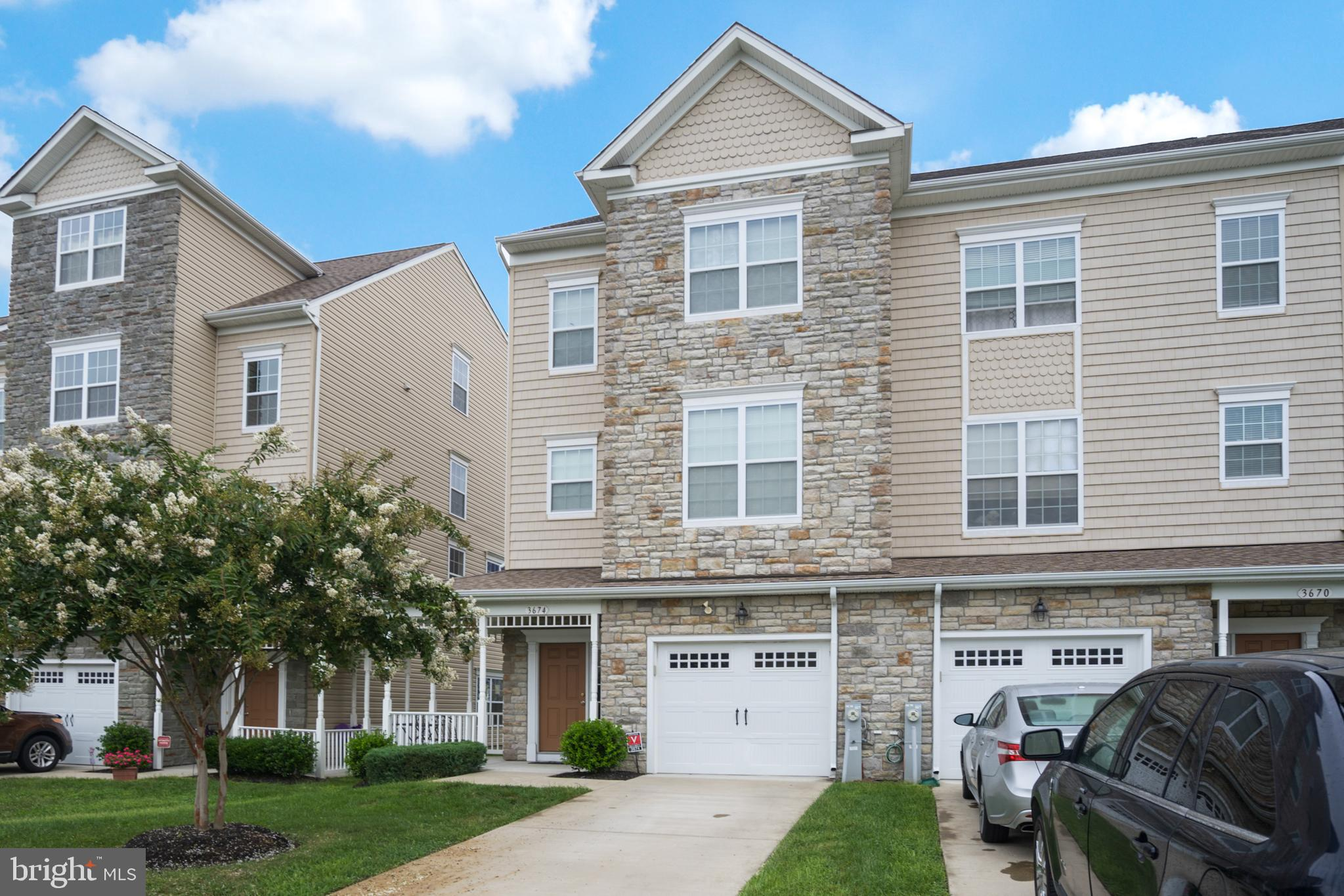 WoW!!! This is an amazing end unit townhouse is hot off the Press!!! A wonderful wrap around porch l