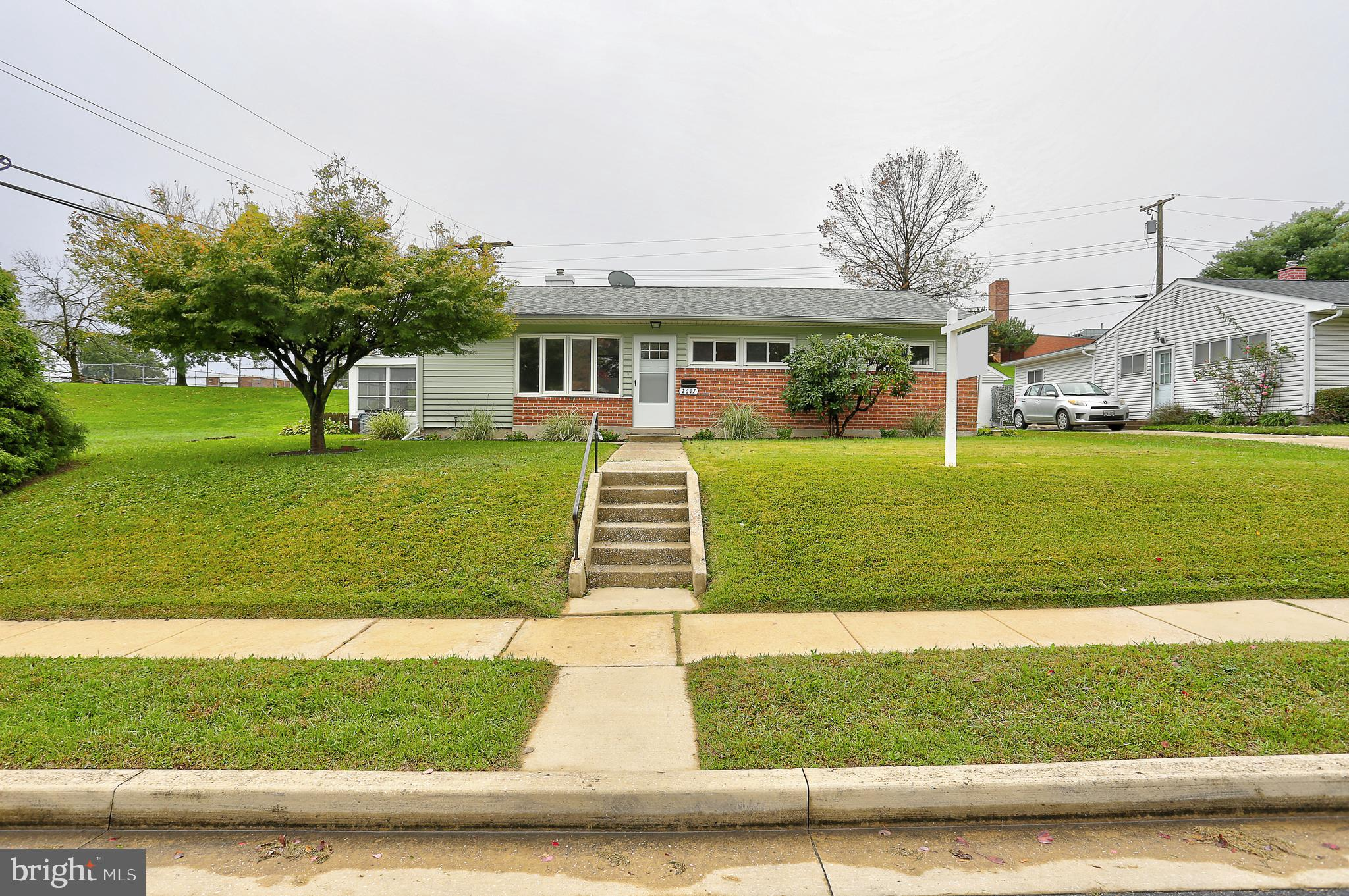 Welcome to Parkville.  Make this rancher with fenced in rear yard your new home.  Located on a quiet