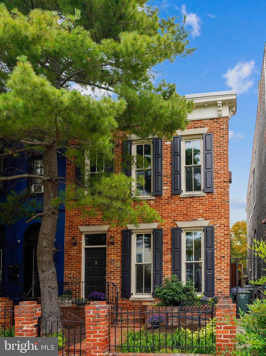 A truly unique Capitol Hill Home situated just above Stanton Park  in one of the most sought after l