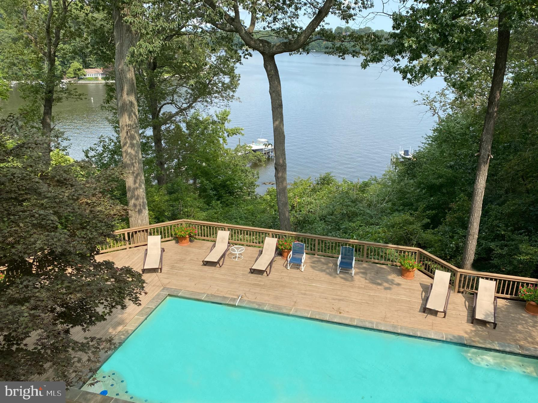 """This is an amazing opportunity to own a spectacular waterfront property in """"The Downs"""" with a pool o"""