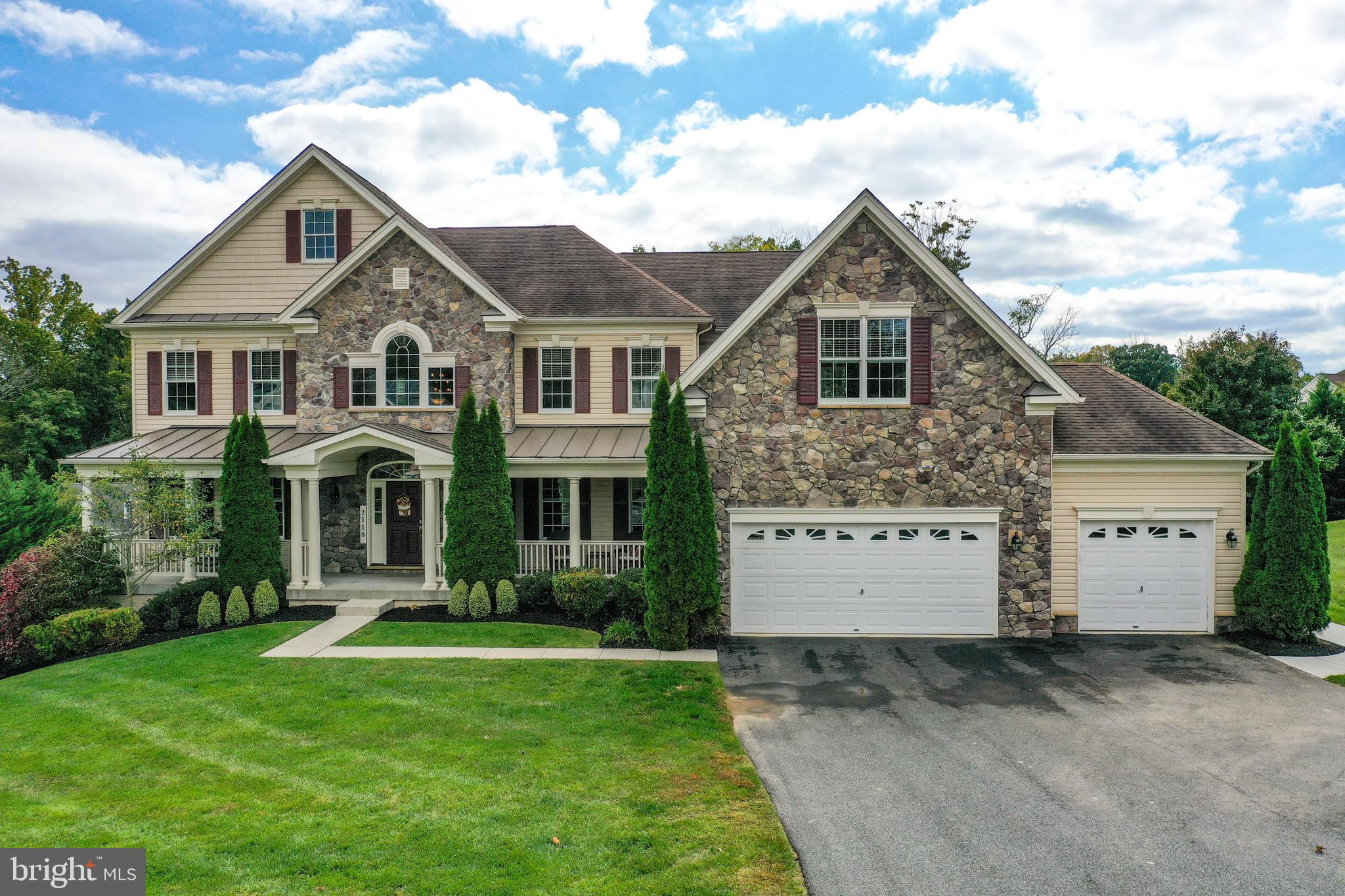 Welcome to the Toll Brothers Hampton, the largest built model in the Estates @ Cedarday. This home w