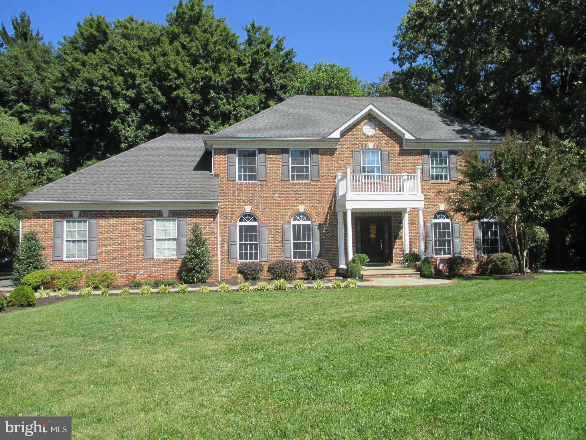 Lovely Classic Colonial on beautiful, peaceful and private acre in Woodson HS  district.  Handsome B