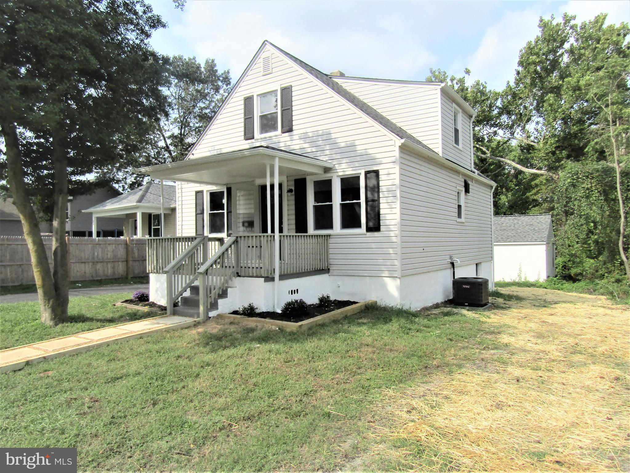 Beautifully Renovated Cape Cod in Historic Glen Burnie! Over 1600 sq ft of Finished Living Space on
