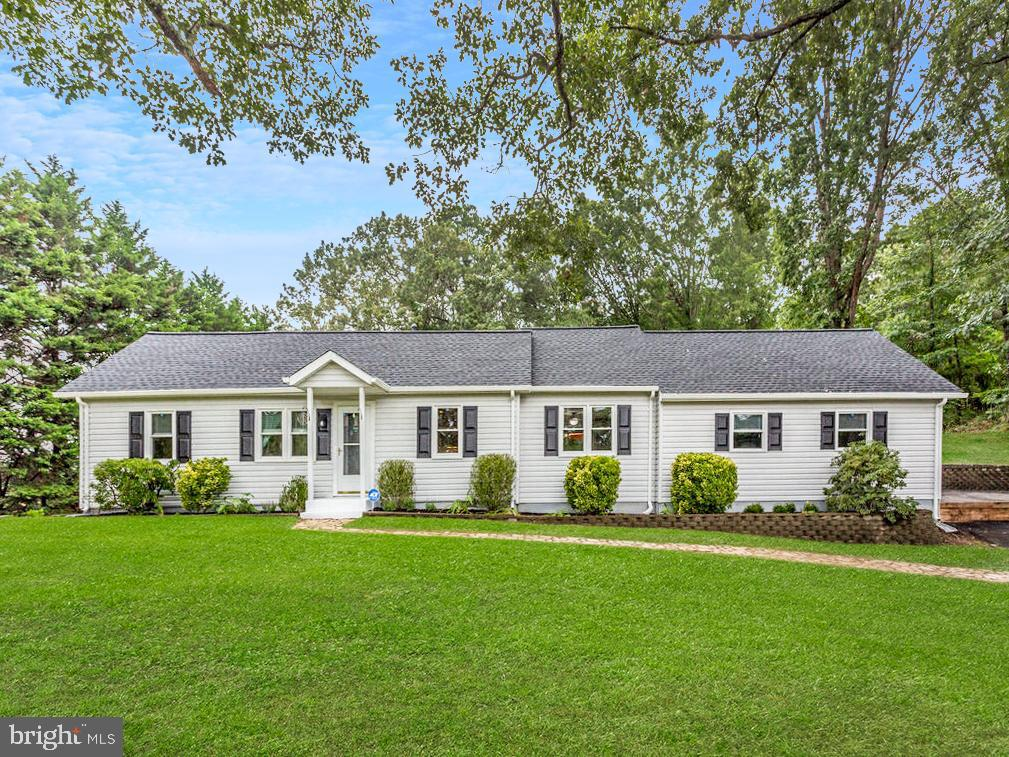 Come take a look at this amazing ONE LEVEL ranch home on 1 acre in beautiful St. Leonard.  With 4 be