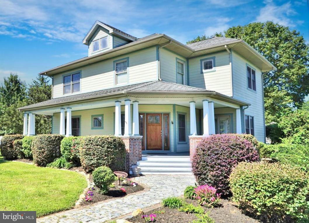 Custom Built in 2003 with an old style charm, this home boasts some water views of the Patuxent Rive
