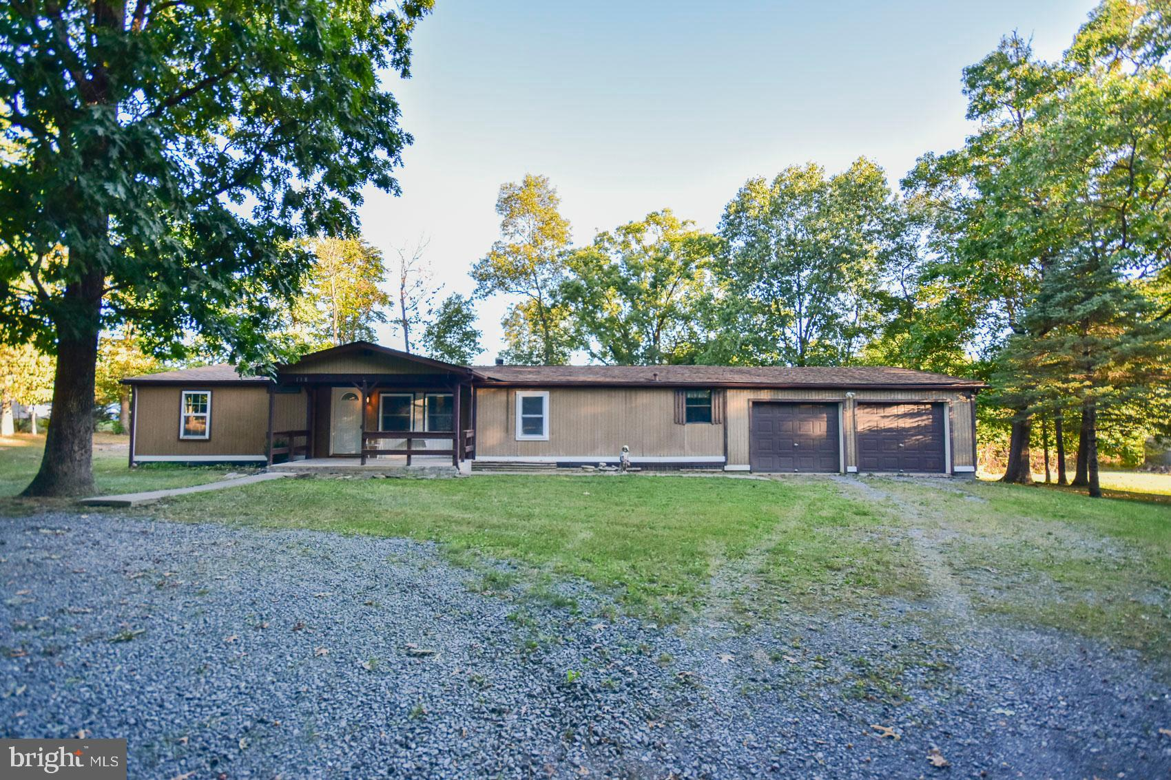 Nice doublewide on park like 1.31 acres at end of street. This home features 3 bedroom and 2 baths.