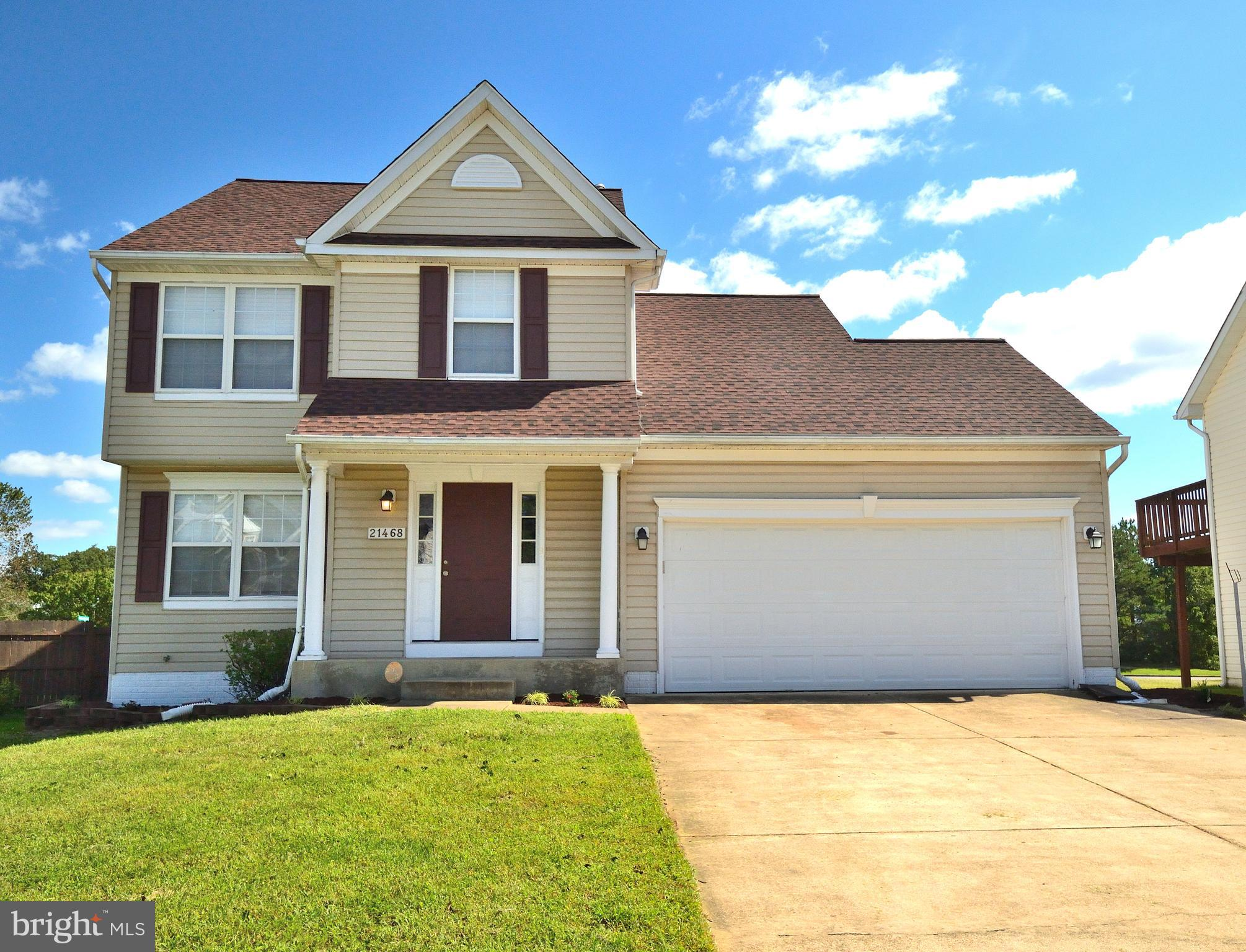 Welcome Home!  4 bedrooms, 2 full baths, 2 half baths.  New architectural roof with 30 year warranty