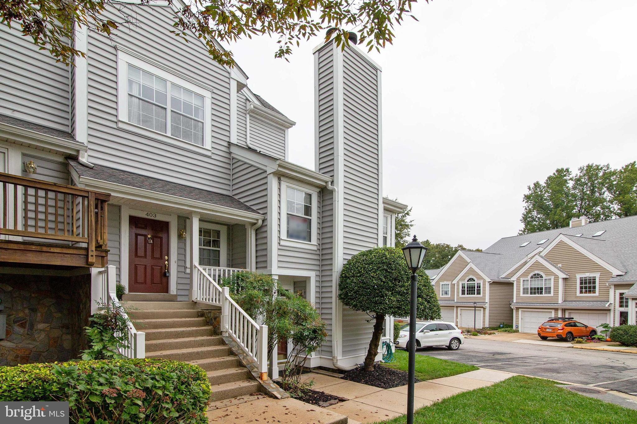 High above the  the charming village of historic Occoquan sits this fabulous 3 bedroom, 3 bath, 2 le