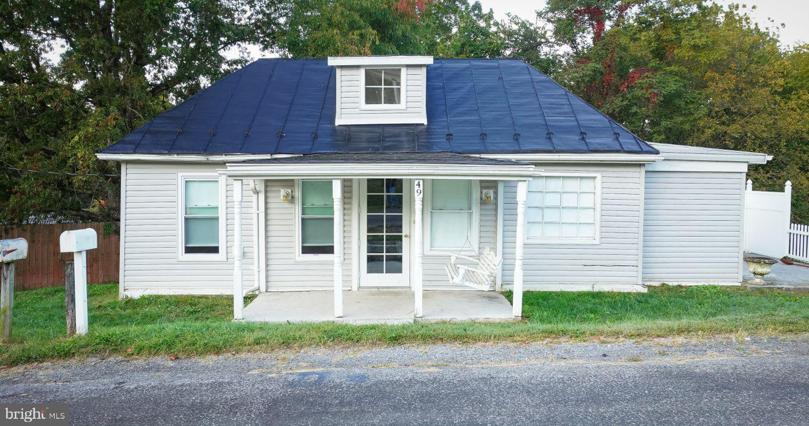 Adorable bungalow located in Bentonville.    No need to rent when you can buy.  Home offers 2 bedroom 1 full bath.  Located close to the Shenandoah River and Andy Guest State Park.