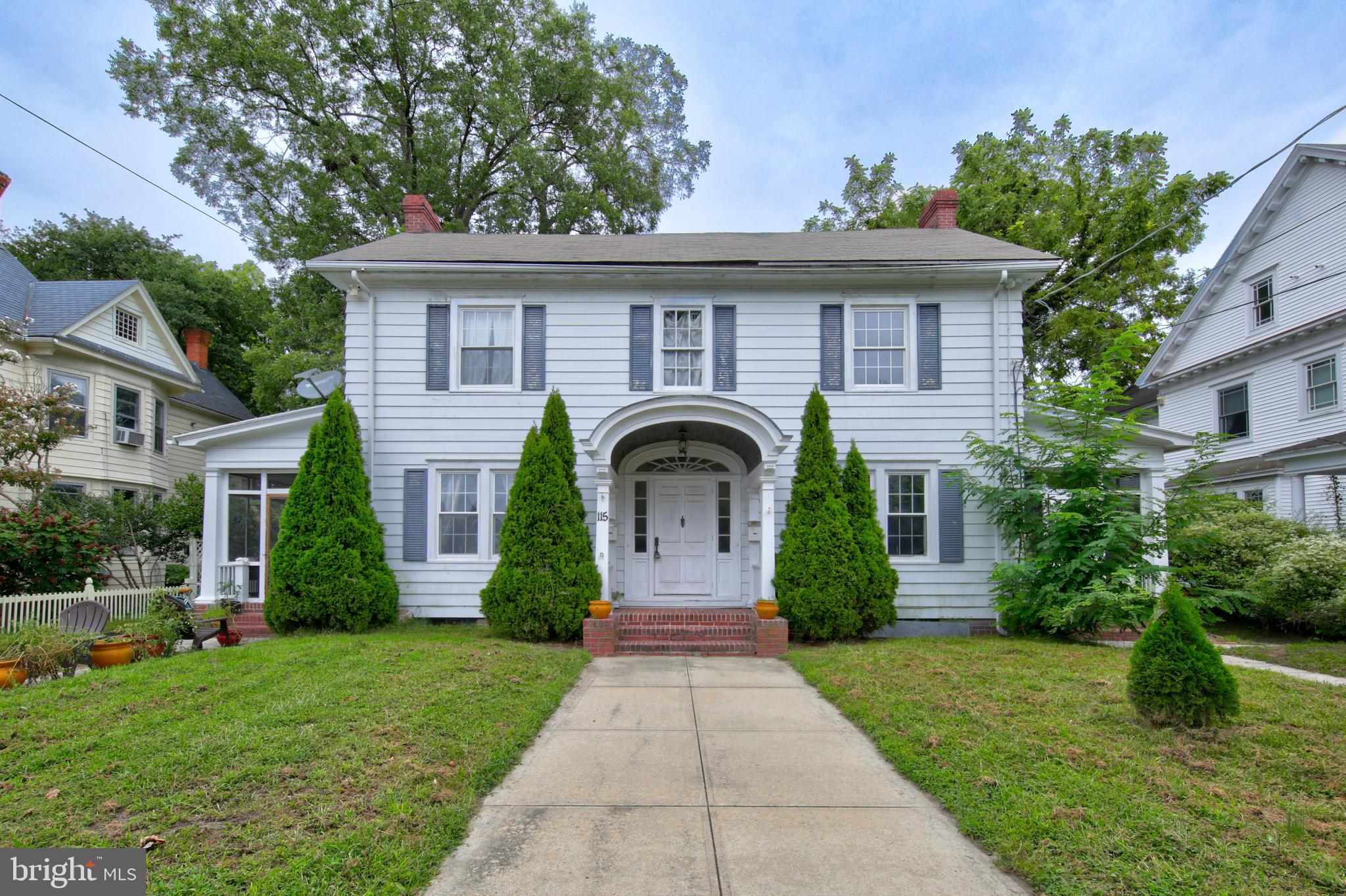 This property boasts endless opportunities located in the Newtown Historic District within walk dist