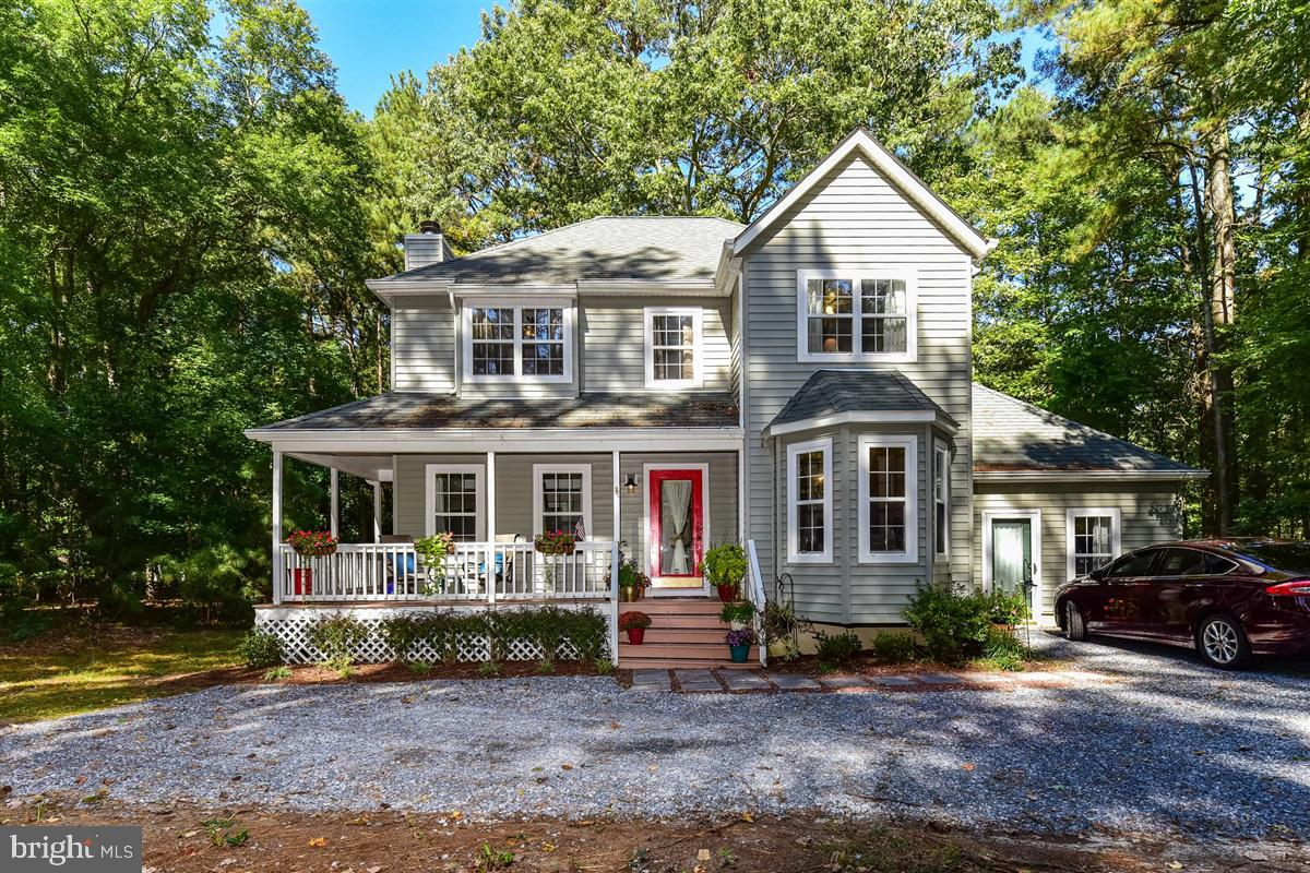 This Adorable Home Is On A Private Corner Lot In Mallard Creek.  Only A Short Drive To Either MD Or