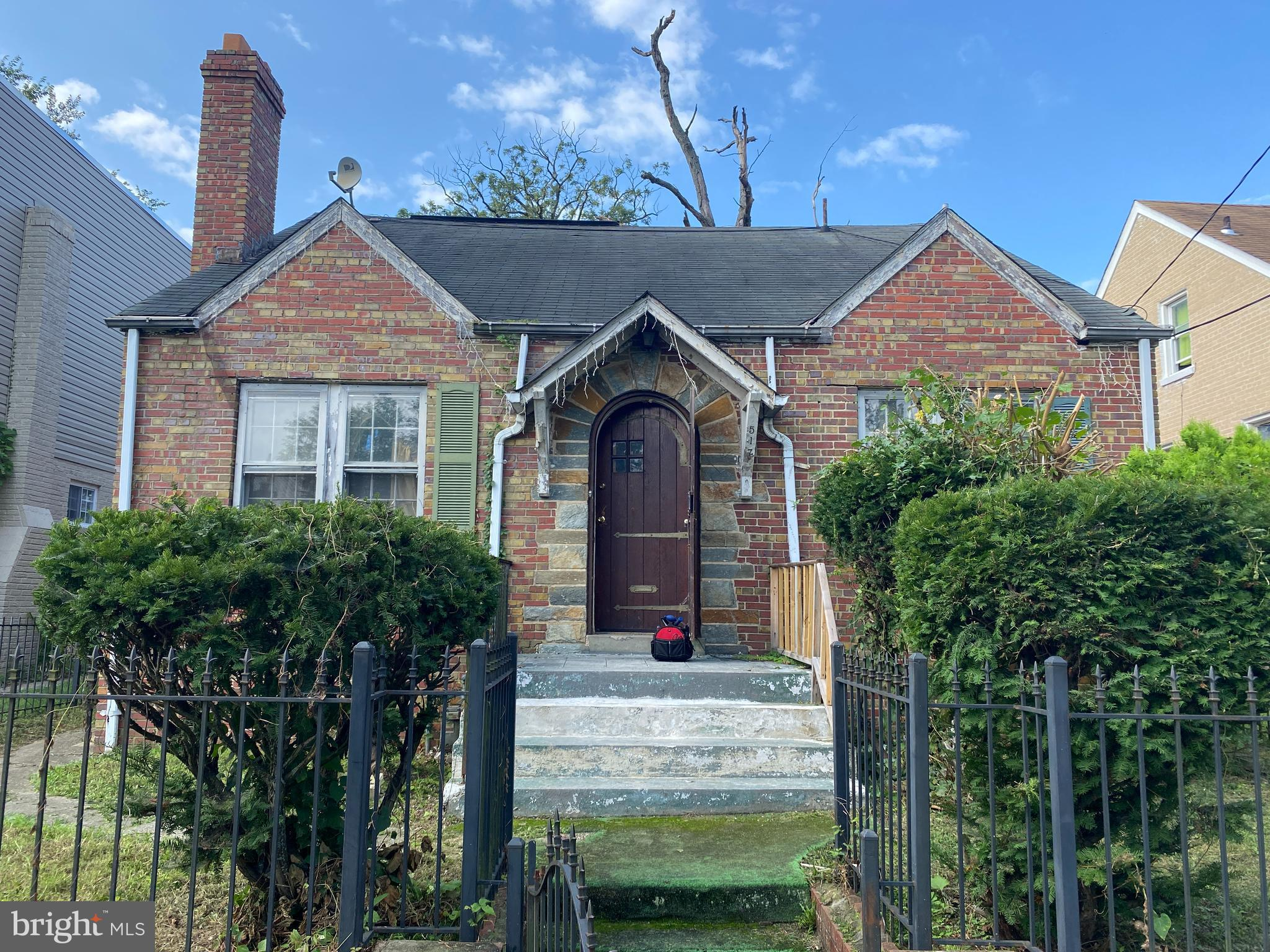 Detached, single-family home in DC under $300K!  Property needs signficant rehab.  Ideal investor pr