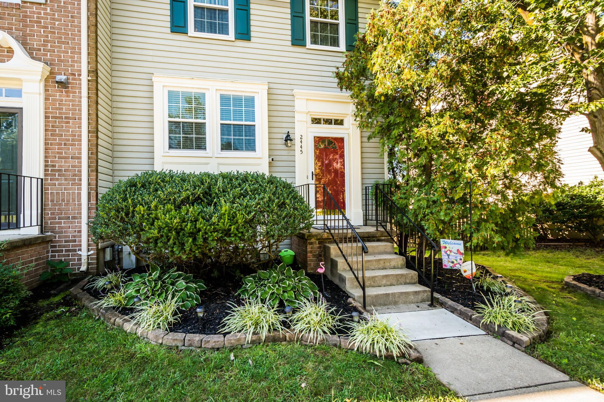 OPEN HOUSE both Saturday and Sunday 11am-2pm (October 3rd and 4th)!!!  Come see this beautifully appointed end unit townhome in Piney Orchard!  There are so many upgrades for you to enjoy, including the newly renovated gourmet kitchen.  There is LVT flooring, upgraded appliances, cabinets counter-tops, a pantry and it's gorgeous!  The eat-in portion of the kitchen enjoys the same high end flooring and has a built-in corner cabinet for additional storage and it leads to the rear slider and your expansive rear deck!  The lower level of the home has a familyroom with wood burning fireplace, a full bath, a laundry/storage room and a walk-out level rear door and storm door to a beautiful patio and the rear fenced yard.  The upper floor houses the 3 bedrooms including the primary bedroom plus 2 additional bedrooms and a full bathroom w/dual vanities.
