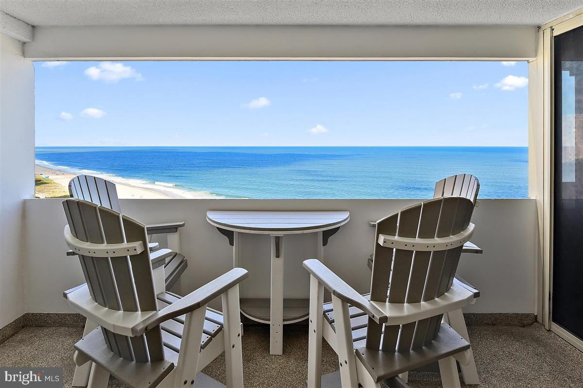 BEST OFFERS DUE SAT 10/10 @ 5PM-SELLERS PREFER NO ESCALATION CLAUSES- Turn key 2 bed/2bath 14th floor condo now available in the Atlantis! This unit is clean as a pin & comes complete with modern coastal furnishings. The open balconies are rare to come by in this buidling & offer endless views & sounds of the gorgeous Atlantic Ocean. Bathrooms updated with tasteful tile showers. Kitchen is modern w/ white cabinets, backsplash & appliances.  Tile floor throughout w/ plush carpet in bedrooms. Outdoor pool, Direct TV & internet included in your condo fees. Next door has a tiki bar for a fresh drink & snack straight from the beach!