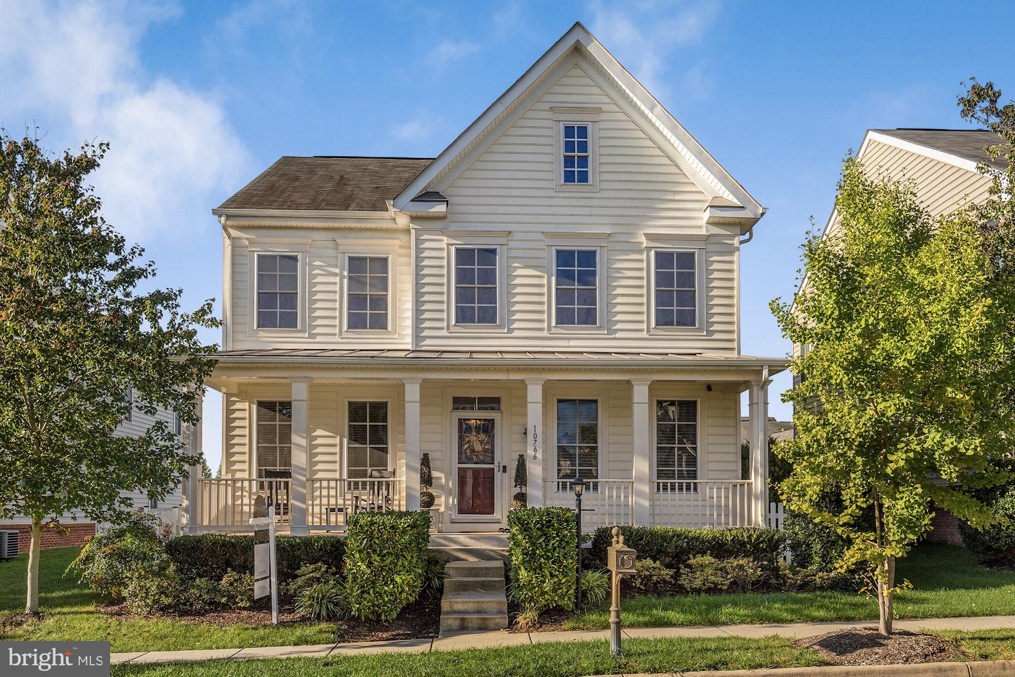 Let the charming front porch WELCOME you to 10766 Musket Ball Court. This well-maintained 4 bed, 3.5