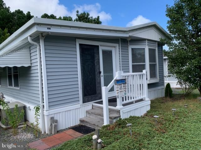 Opportunity To Enjoy A Well-Kept Vacation Get-A-Way Close To Ocean City Located On The St. Martin River With Not Ground Rent,  Appliances And Storage Shed, This Unit Has Been Used By Owners Only, No Rentals, Monthly HOA Fee Of $175 Provides Gated Community With 24 Hour Security, Common Area Maintenance For All Owners, Clubhouse, Laundry And Bath House, Swimming Pool With Life Guard, Cable TV, Basketball Court, Children's Play Area, Covered Picnic Area, Boat Marina With Slip Fee Usage, Lawn Maintenance, Boat Ramp, Boating Rentals Available, Boat Storage With Fee Available, Trash Service, Sewer And Water And Management Fees,  Community Restrictions Prevent Full Time Residency From Oct. 1st to April 1st But Partial Residency Is Permitted. Note Rare Unit In That It Offers 2 Bathrooms With 726 Square Fee.