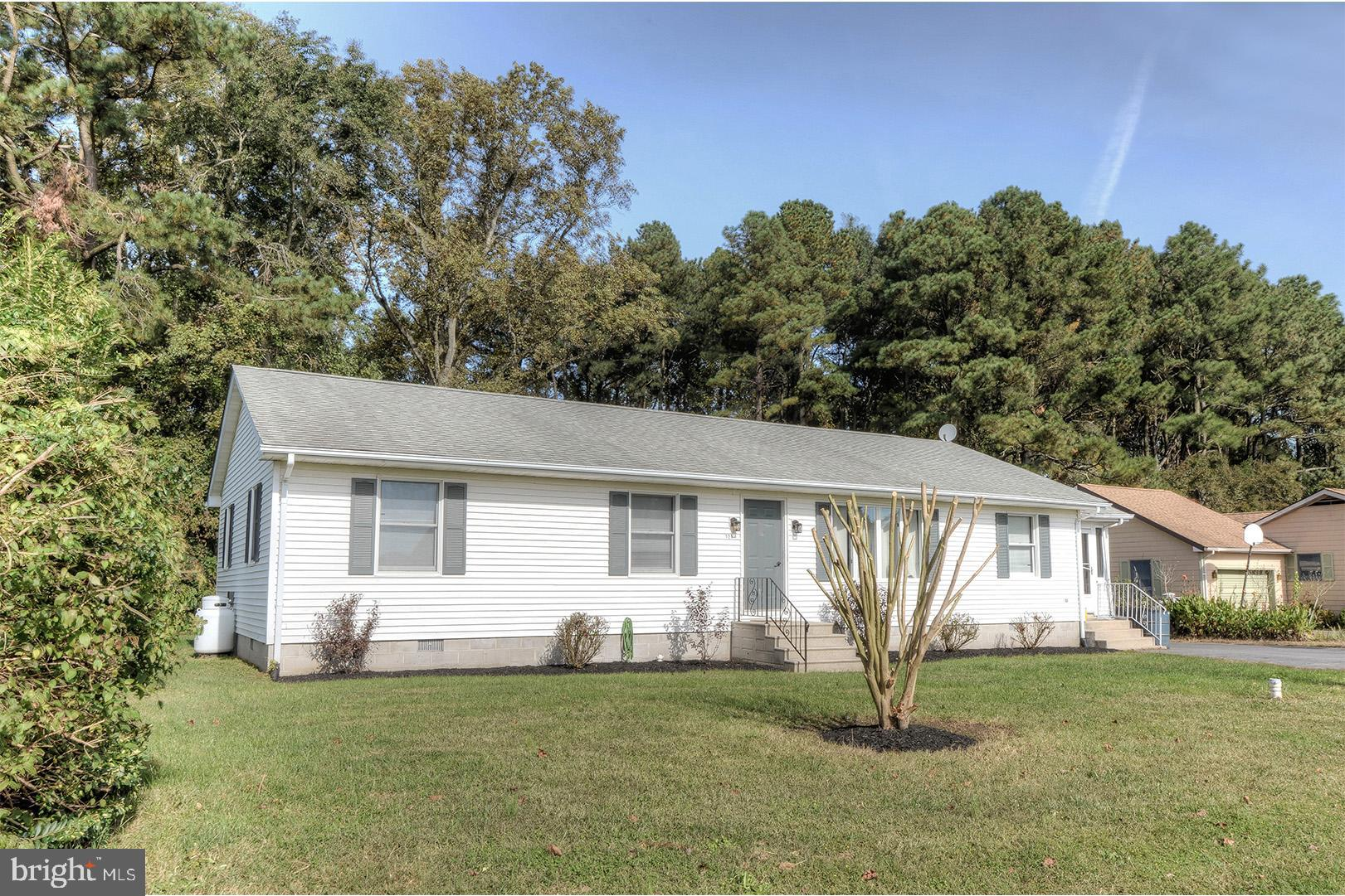 Charming rancher East of Route 1! This 3 bedroom, 2 bath home offers over 1,500 square feet, a spaci