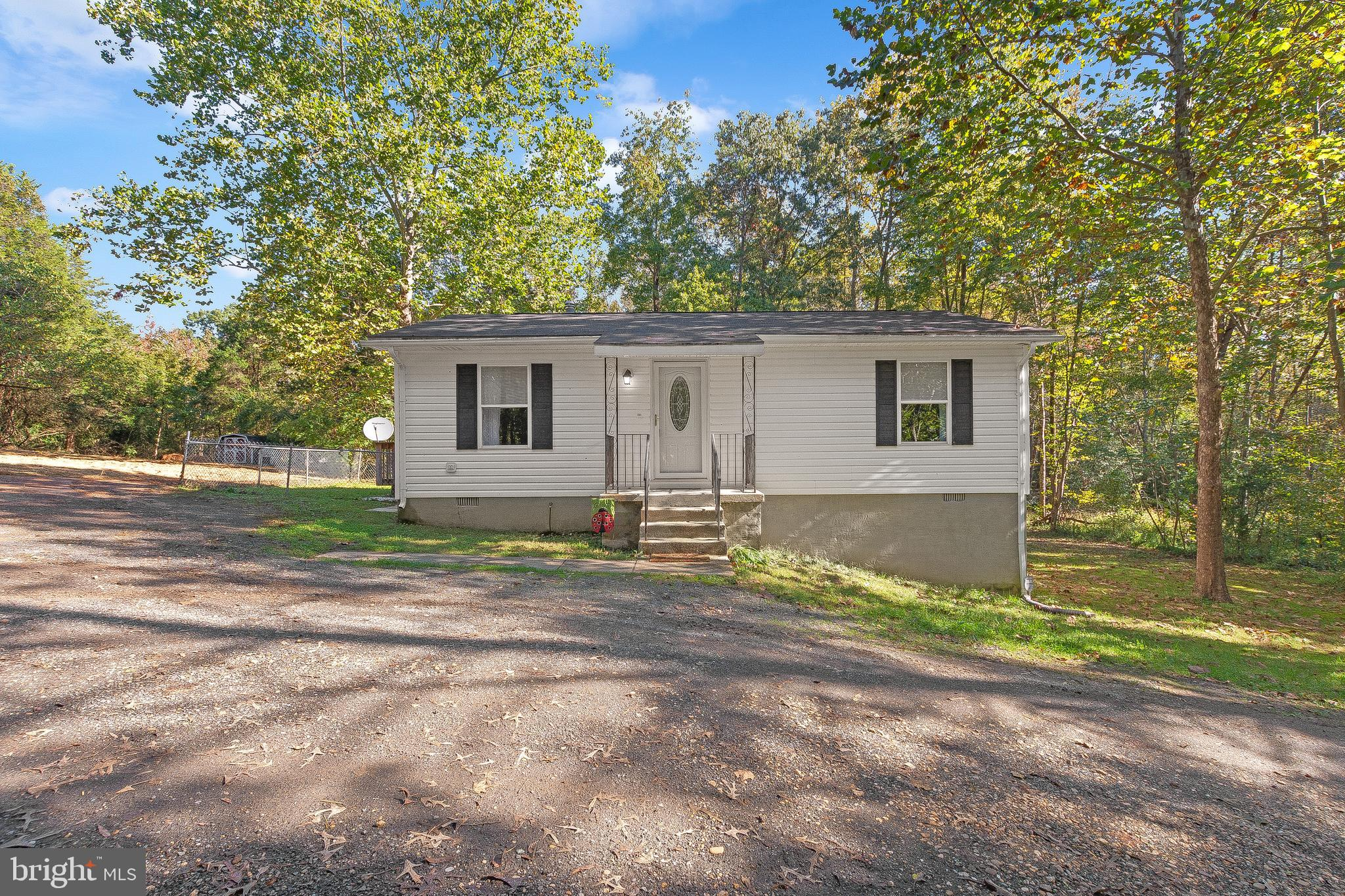 Welcome to your Private Haven nestled back in Nanjemoy, MD. Wake up every morning with 5 acres of Br