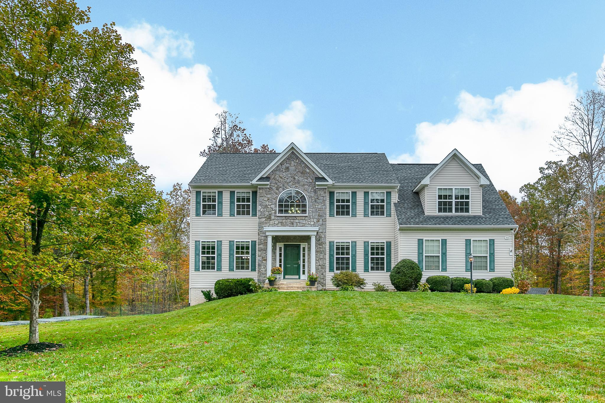 Tavern Gate in Hartwood!  Nestled nicely on a quiet cul-de-sac, this house features 5 bedrooms (1NTC