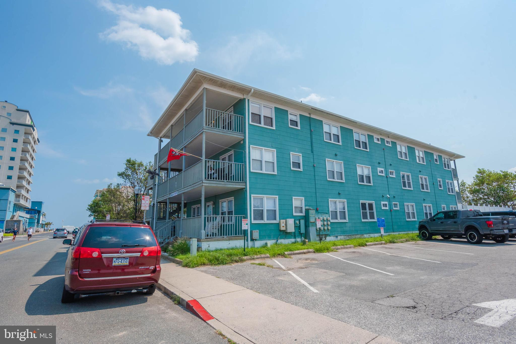 Own a piece of Ocean City's original charm in this downtown Sea Nymph building offering 2 bedrooms and 1 bath, located on 17th St. Steps from the beach!  Enjoy views of the ocean from the welcoming porch. There's a pool too! The owner of this property also owns active listing MLS# MDWO117780 , which is a 1 bedroom, 1 bath unit if you need even more room!