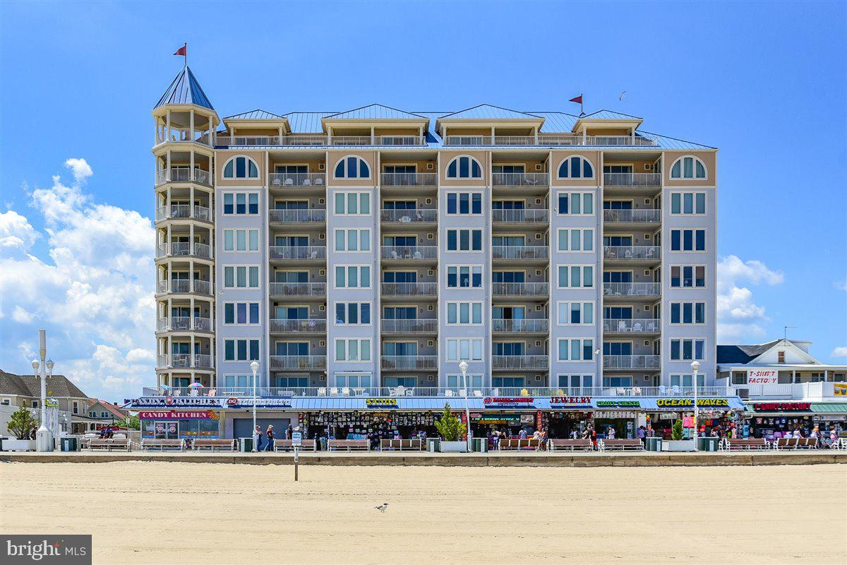 What a fantastic investment opportunity here at the Belmont Towers in Downtown Ocean City.  Direct o