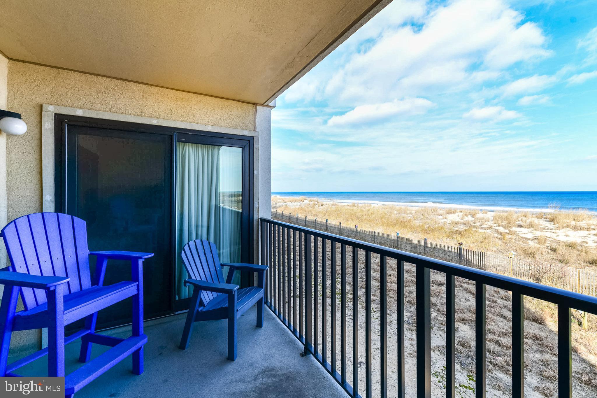 This direct oceanfront condo offers an open floor plan, oceanfront master bedroom with beautiful wat