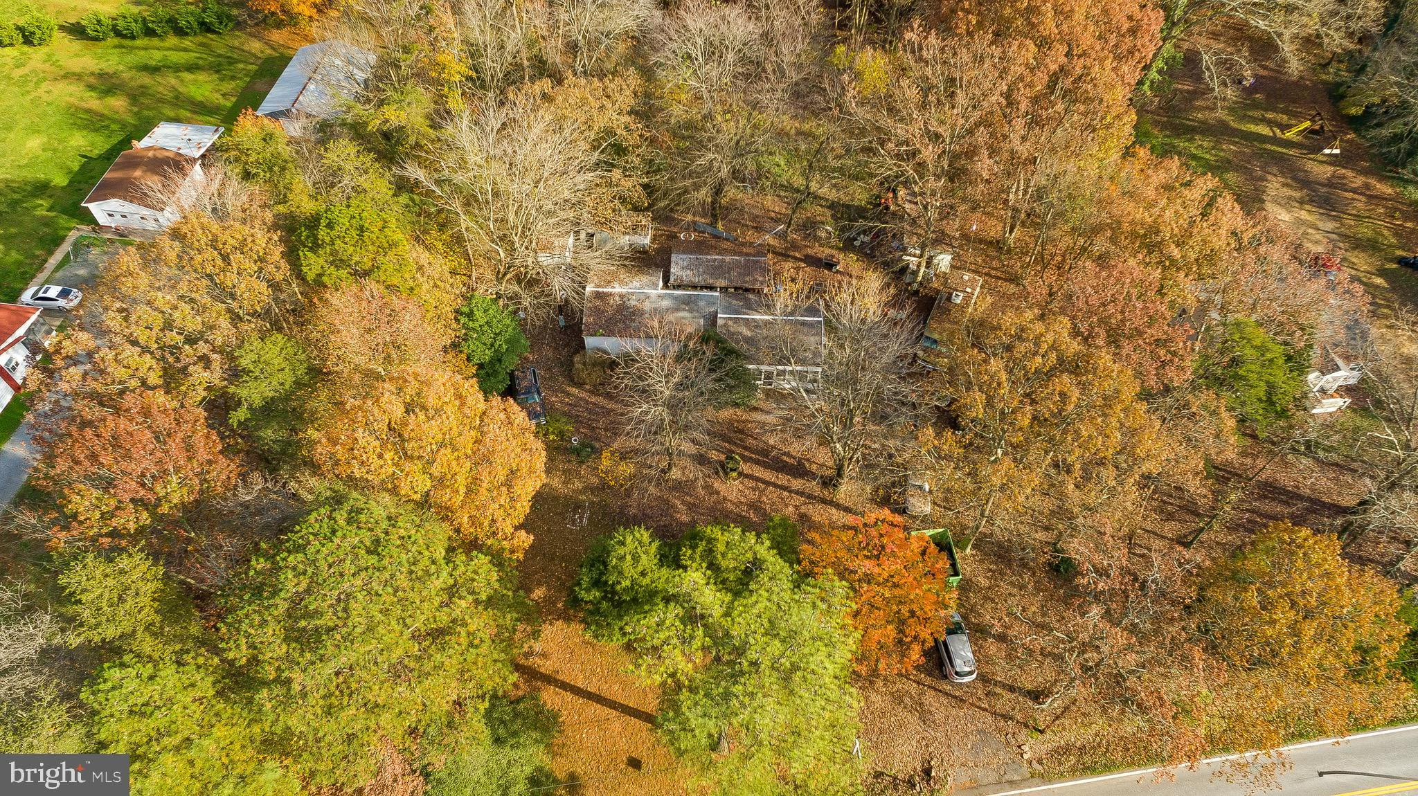 Great opportunity to purchase .83 acre.  Offering a mobile home with outbuildings.  Property is bein