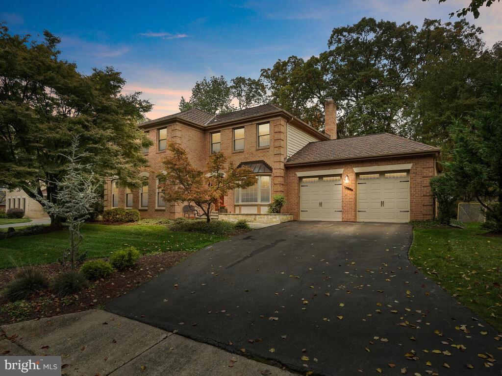 Wonderful opportunity to own this beautifully updated home situated on a private scenic lot in a par