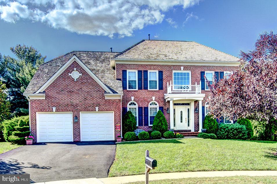 Beautiful Brick Front Drake Model Colonial by Madison Homes with a Fully Finished Walk-Out Lower Lev