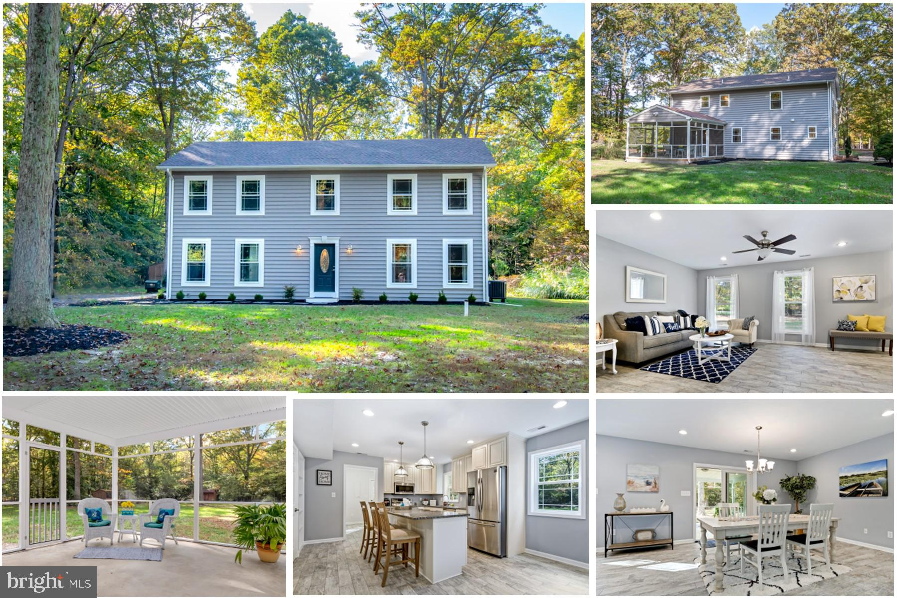 Captivating Colonial on 2 Acres is Waiting for YOU!  Finishing touches being placed on this Renovate