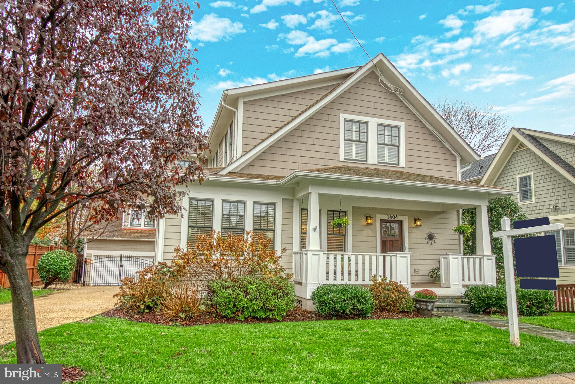 This beautiful Craftsman-styled home sits on a 7,154 square foot lot in sought after Lyon Village.