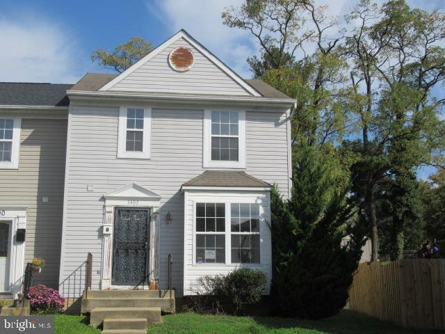 Fantastic opportunity to own this 3 bedroom semi-detached townhouse. Located on a dead end street, this jewel is just minutes from D.C. and a short  drive to VA, National Harbor and 295. Generous sized bedrooms upstairs with a full bath in the master bedroom. Table space in the kitchen and large family room with sliders leading to the back yard. Add a deck for endless entertainment and relaxing evenings. Lower level is partially finished with a large family room . The unfinished portion has lots of room for storage that could be finished for additional living space.  The home is sold AS IS and the seller will not make any repairs but it is worth the time and the effort.  This is an ideal location and priced to sell.