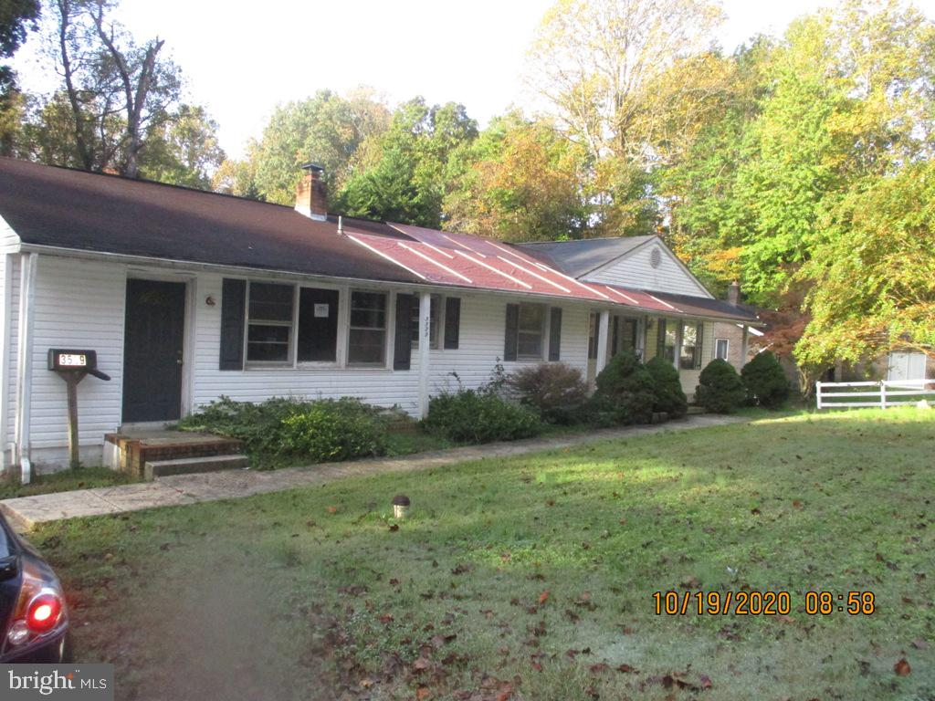 Very spacious rambler with a basement.  It appears there was an addition to the property at some tim