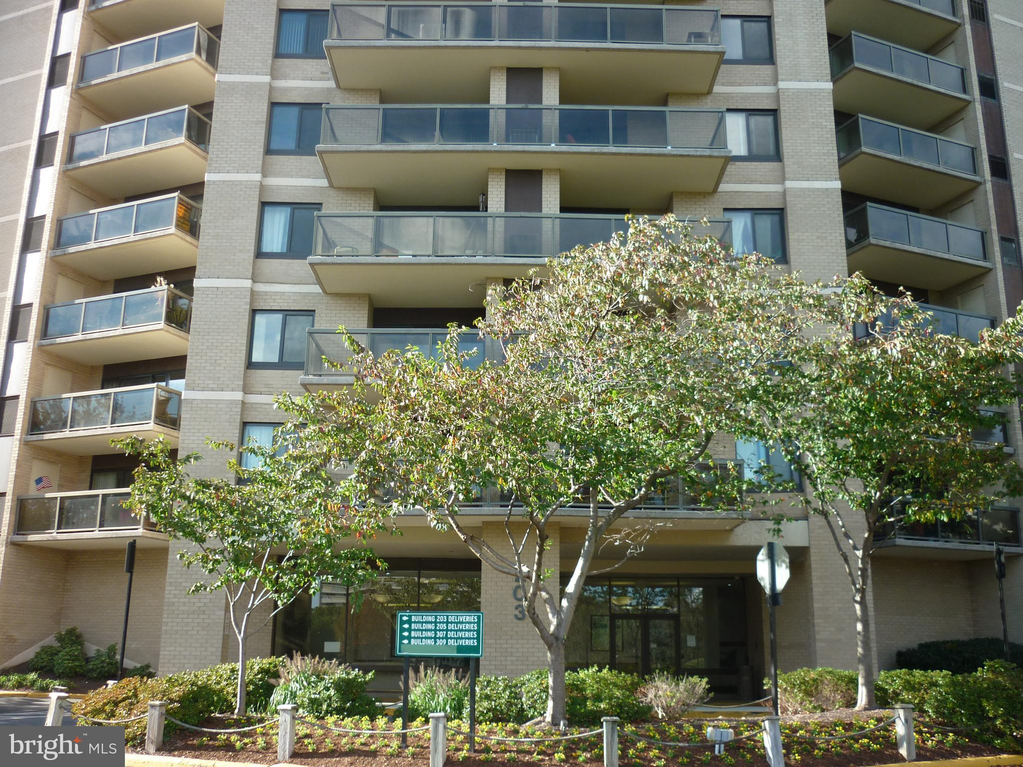 Lowest priced 2 bedroom/ 2 bath on the market in Watergate at Landmark! Investor's dream! Amazing value for resort like living in the heart of Alexandria! Inside the Beltway, convenient to all major roads.  You will never have to leave this beautiful community! Condo Fees include ALL UTILITES (except cable). 11th floor unit with great patio views! Beautiful new hardwood floors throughout! Large master bedroom and eat in area off kitchen/living room. Needs work. Price reflects that the property is being sold as-is. This amenity rich complex includes... indoor and outdoor pools, meeting rooms, market and cafe, salon, playgrounds, tennis & Pickleball courts. Full work-out facility, even beach volleyball!! Complimentary shuttle to Van Dorn Metro. Easy access to 495/95/395! Minutes from Reagan National Airport, Pentagon, Old Town Alexandria, and the  new Amazon HQ2.  This is a bankruptcy Trustee sale. All terms of listing and sale are subject to court approval. Residents are living in  property.  Please wear masks and give 24 hours notice.