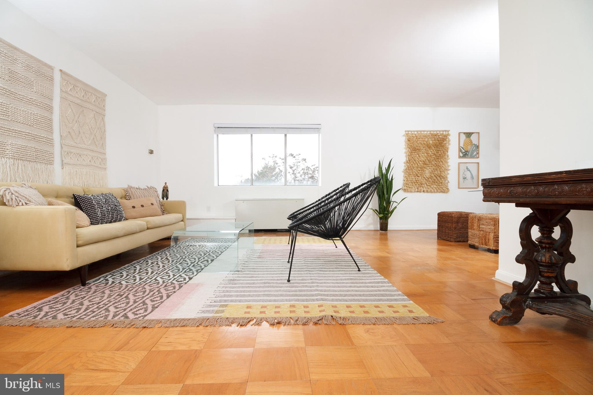 Welcome home to a renovated 1BR/1BA condo at The Carolyn, minutes to Downtown Silver Spring! Endless