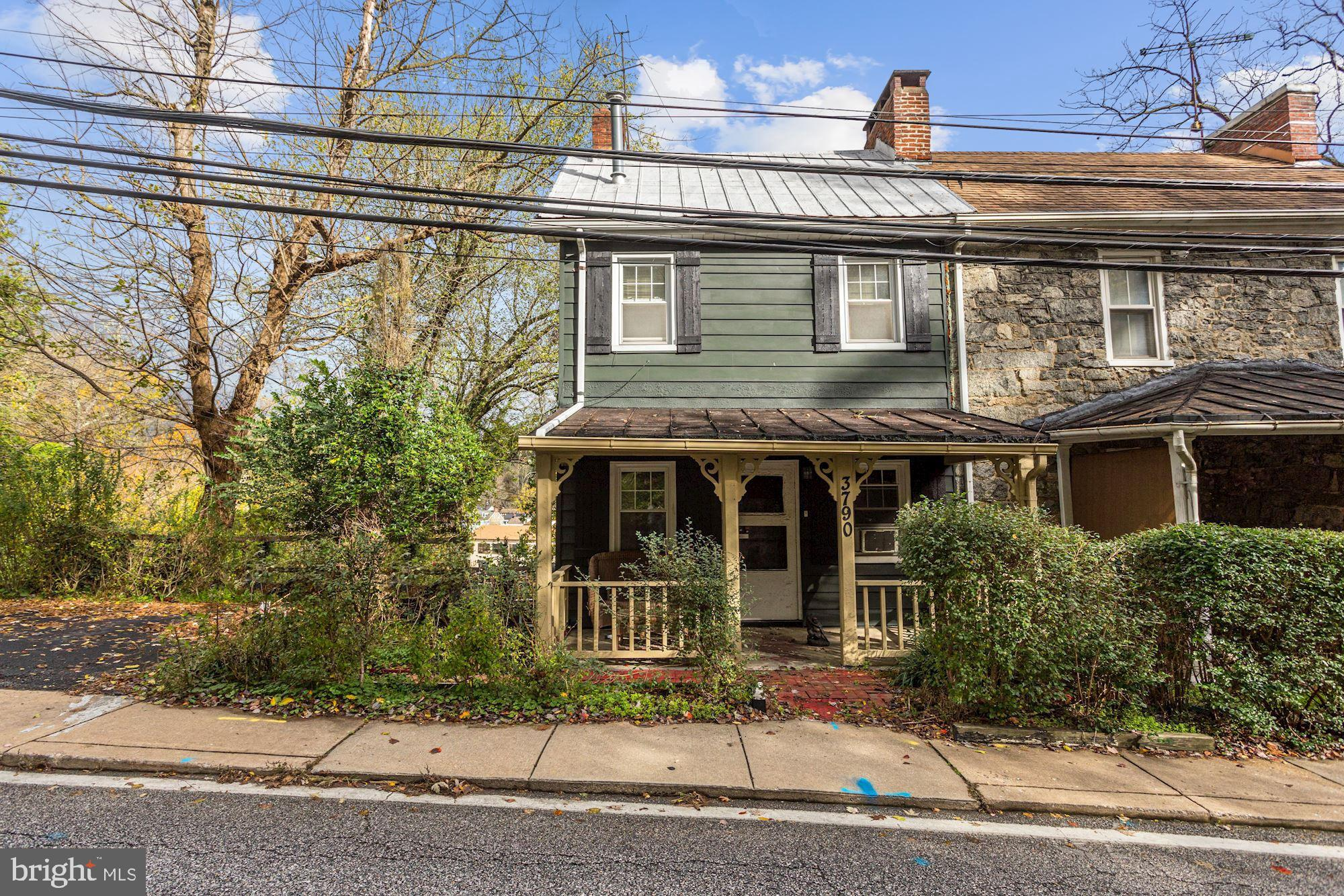 Investors Alert!  Located in Historic Ellicott City. Walk to shops and restaurants.  Property sold s