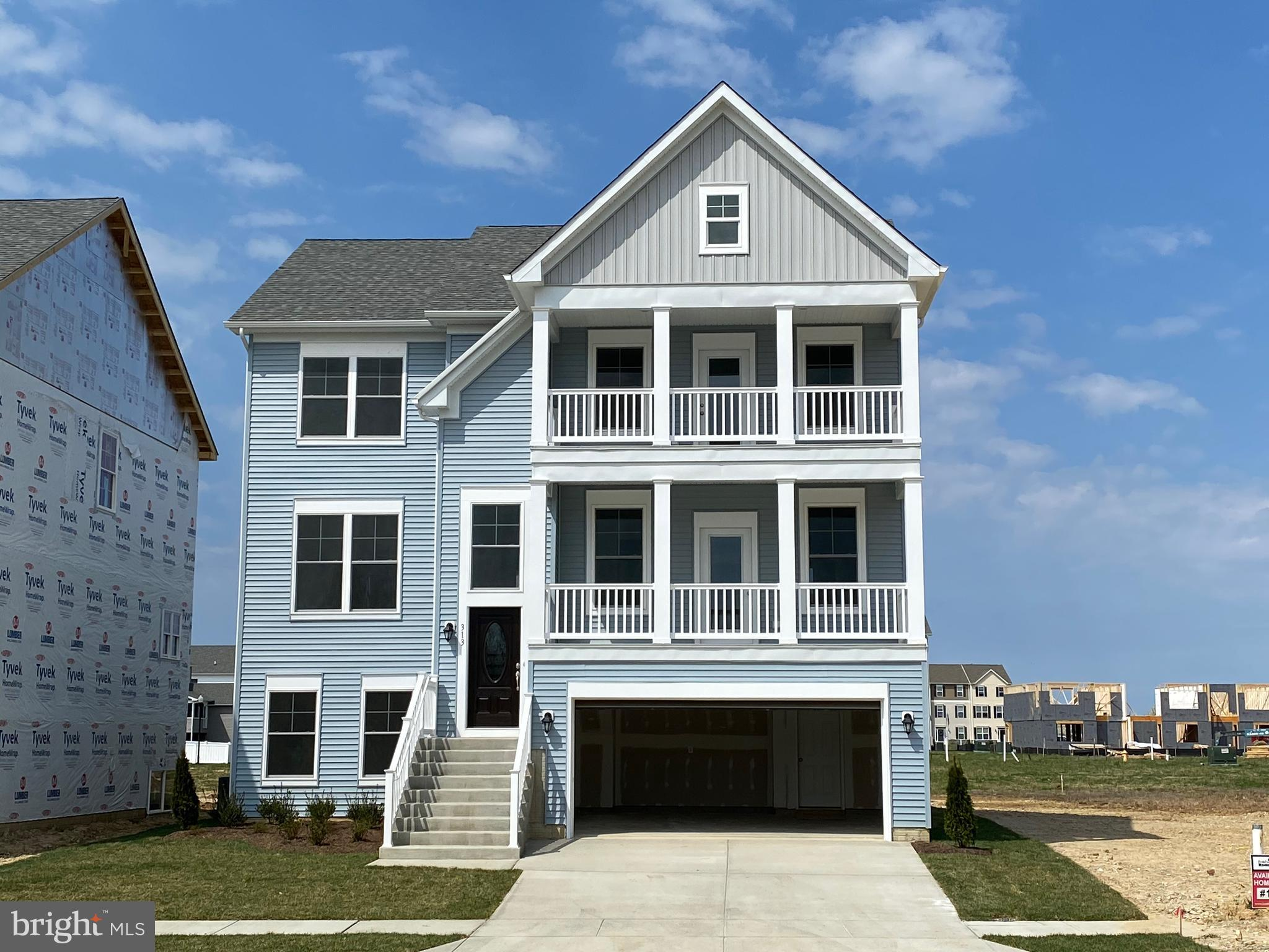 Lot 101 - SOLD - TO BE BUILT BY BALDWIN HOMES INC. The Tawes model will feature 4BR, 3.5BA, 2 car fr