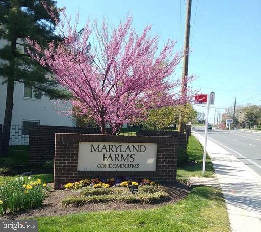 Desirable 2 Bedroom 1 and a half bath PATIO UNIT at Maryland Farms!  Open the sliding glass doors to your own slice of nature! Condo fee includes all utilities, assigned parking and community pool. Updated kitchen and baths. Tons of closet space! So close to the new hospital and all the new development, plus great commuting location!