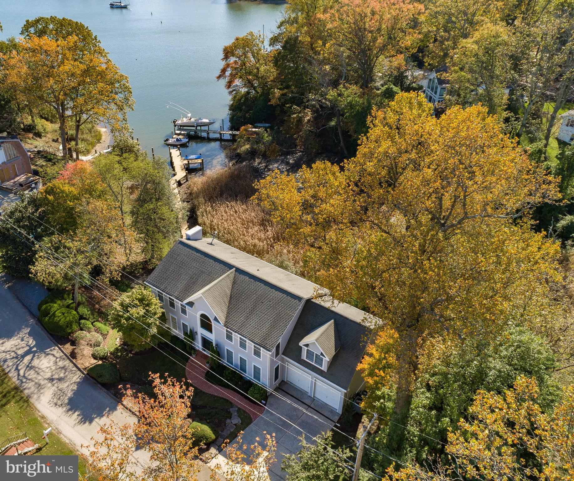 Come home to this spectacular Annapolis waterfront property,  sited on Lands End in Annapolis Roads!